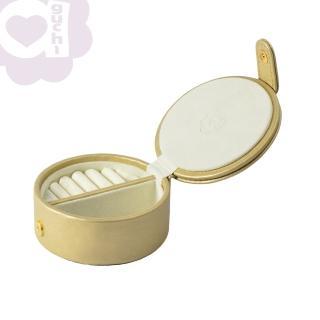 【亞古奇 Aguchi】法式馬卡龍-香檳金(玩美精靈系列珠寶盒)