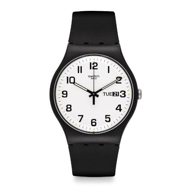 【SWATCH】原創系列手錶 TWICE AGAIN 雙次驚艷(41mm)