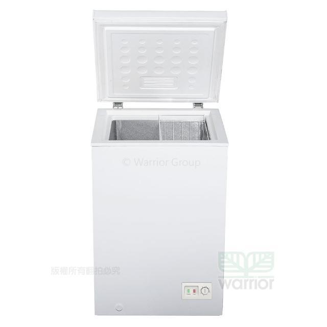 【Haier 海爾】Haier海爾 1尺9 上掀密閉冷凍櫃 HCF-102S新款