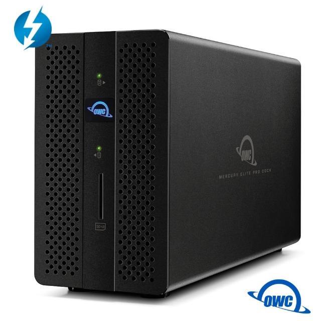 【OWC】Mercury Elite Pro Dock(Thunderbolt3 硬體RAID 雙槽2.5/3.5吋硬碟含集線器功能)