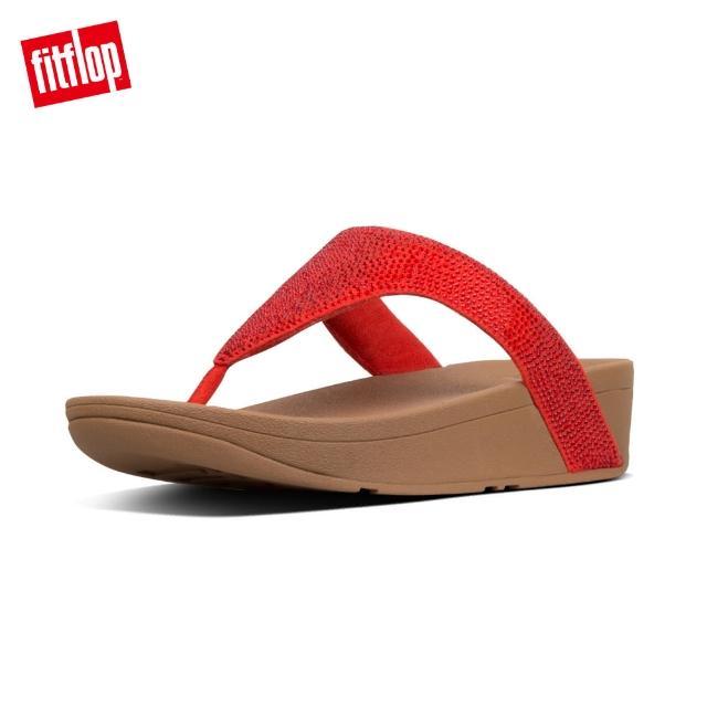 【FitFlop】MINA IRIDESCENT BACK-STRAP SANDALS 金屬光澤可調式後帶涼鞋-女(復古金)