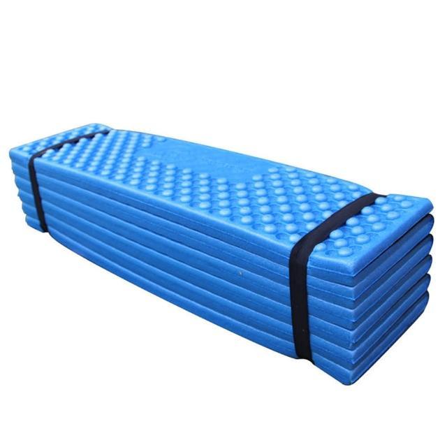 【PUSH!】戶外休閒用品防水防塵雙蛋槽折疊防潮墊睡墊加厚防潮墊(P139)