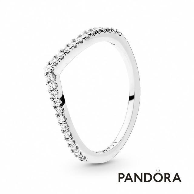 【Pandora官方直營】閃爍許願骨寶石戒指