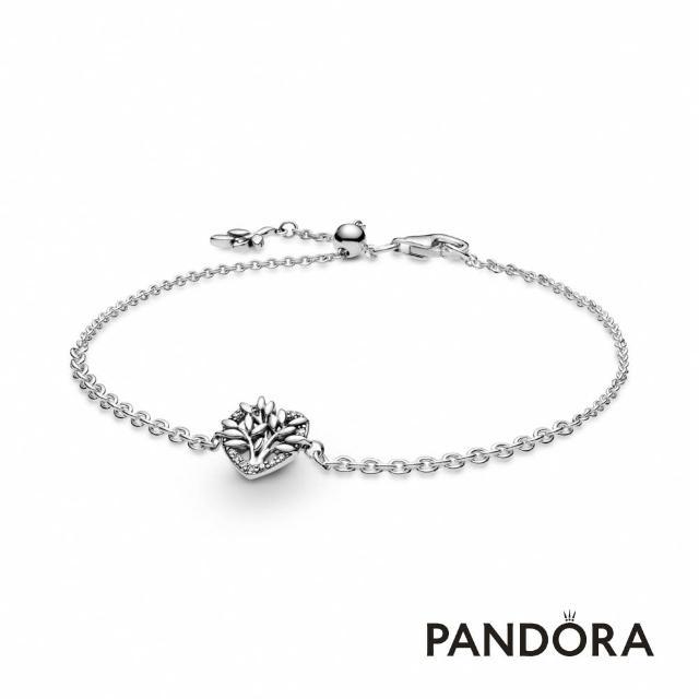 【Pandora官方直營】心形家庭樹手鏈