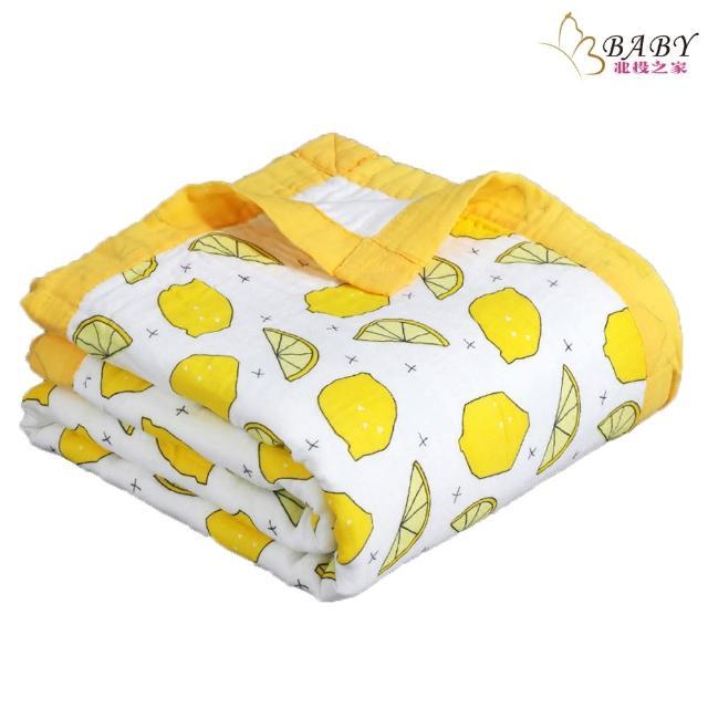 【BB-baby 童裝】六層紗布被子棉被 洗澡大浴巾四季被 0-7歲 邂逅小檸檬(嬰幼兒/兒童/小孩/小朋友/新生兒)