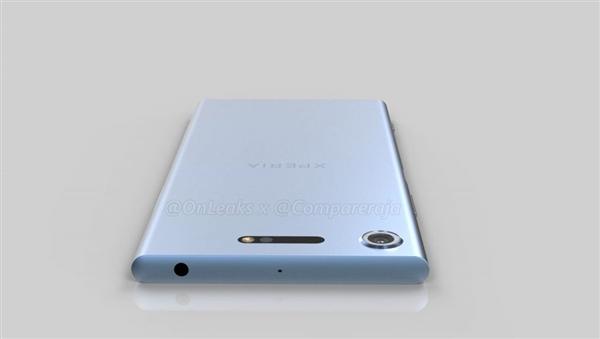索尼Xperia XZ1 360度大曝光: 全金属无断点