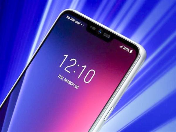LG G7高清渲染图曝光:确认刘海屏