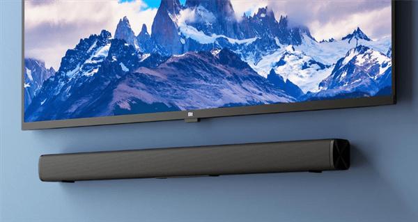 Redmi电视条形音箱新品上架:自带壁挂 支持蓝牙5.0