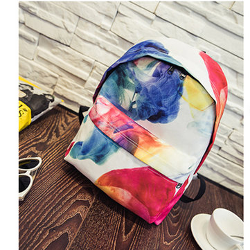 Canvas Print Backpack New Chic