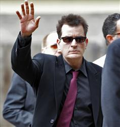 Charlie Sheen: ODed on cocaine.