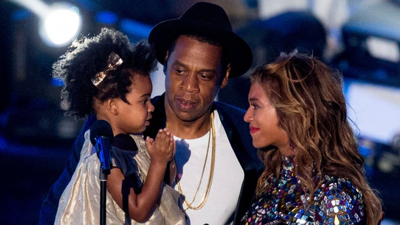 never hear about beyonce and jay z s kids