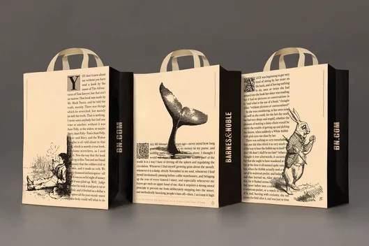 New Barnes and Noble shopping bags - peoplewhowrite