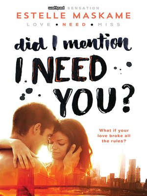 [PDF] Did I Mention I Need You Download Full - PDF Book