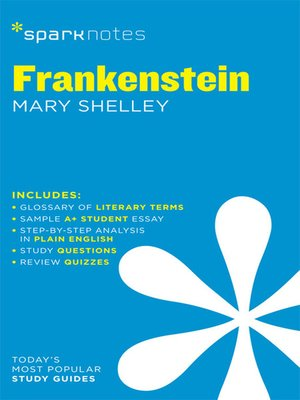 Frankenstein SparkNotes Literature Guide by SparkNotes  OverDrive Rakuten OverDrive eBooks