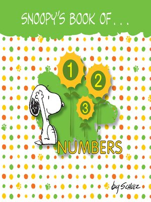 Snoopy S Book Of Numbers By Charles M Schulz 183 Overdrive