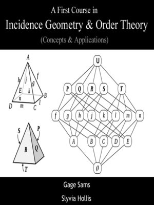 A First Course in Incidence Geometry & Order theory by