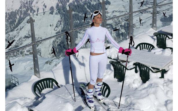 2014 Female ski instructor calendar  Ms January 2014  Female Ski Instructor Calendar  OnTheSnow