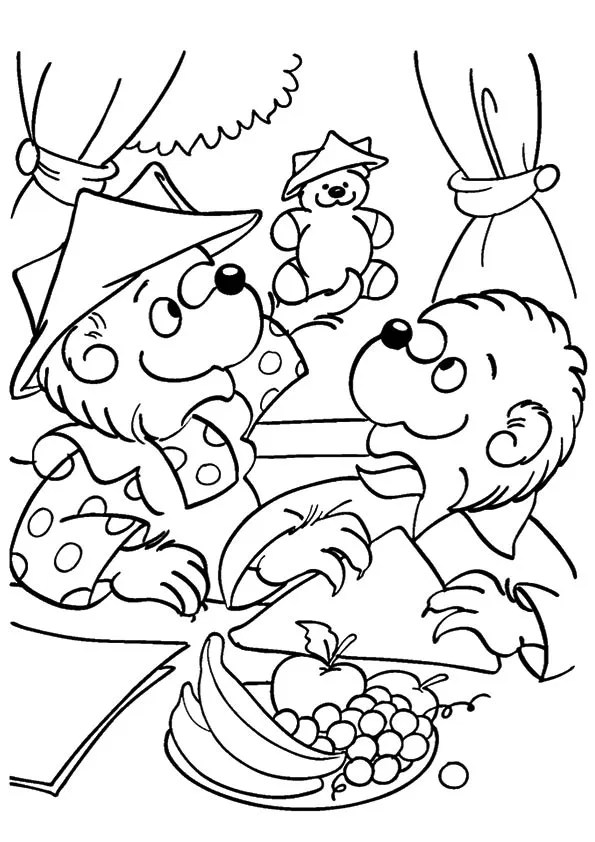 Free & Printable A Berenstain Bears Brother and Sister