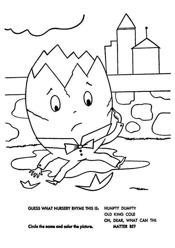 Free Printable Humpty-Dumpty Coloring Pages, Humpty-Dumpty