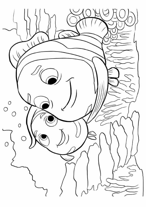Free & Printable The Nemo coloring Coloring Picture