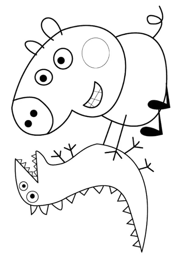 Parentune Free Printable Peppa Pig Coloring Pages Peppa Pig Coloring Pictures For Preschoolers Kids