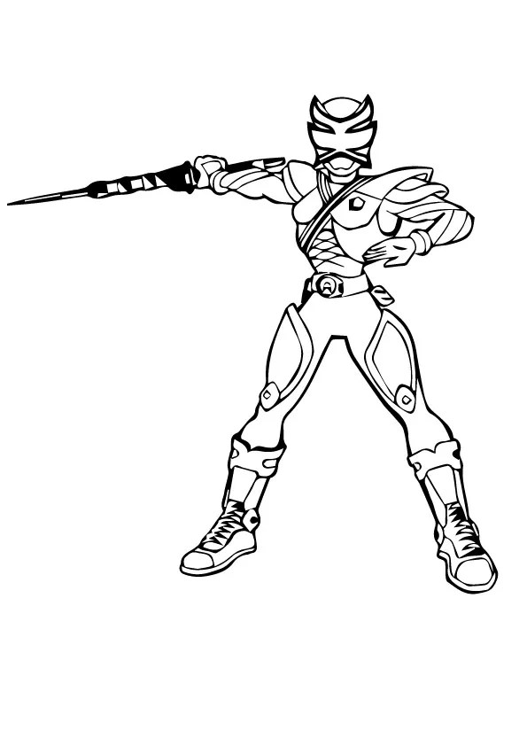 power rangers megaforce coloring pages # 78