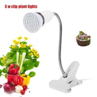 LED Grow Light Plant Growth Light Lamp Holder Clip For