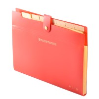 8 Layer A4 Paper File Folder Cover Holder Document Storage