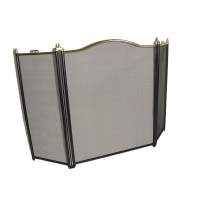 Fireplace Fire Screen Guards Kitchen Home Spark Protecting ...