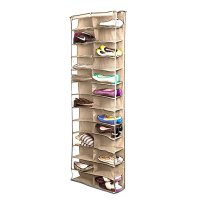 Shoe Rack Storage Organizer Holder Folding Hanging Door