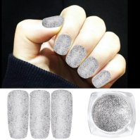 Box Holographic Glitter Nail Art Decoration Holo Glitter