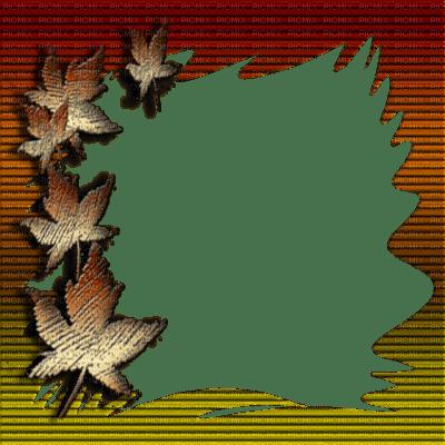 Animated Thanksgiving Wallpaper Autumn Frame Automne Autumn Fall Frames Framework