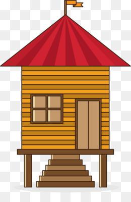 Gambar Atap Rumah Kartun : gambar, rumah, kartun, Gingerbread, House,, Rumah,, Konten, Gratis, Gambar