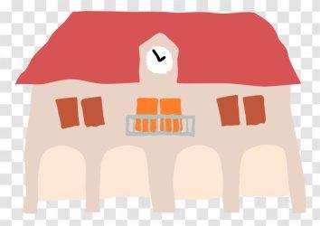 House Cartoon Anina Town Hall Transparent PNG
