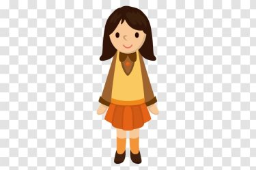 Student Cartoon Drawing Illustration Middle School Girls Transparent PNG