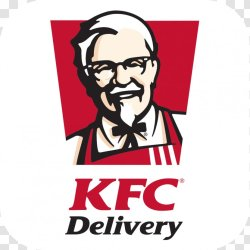 Colonel Sanders KFC Delivery Online Food Ordering Restaurant Menu Text Transparent PNG