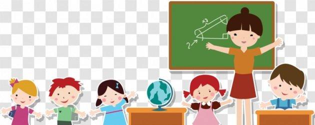 Student Teacher Cartoon Transparent PNG