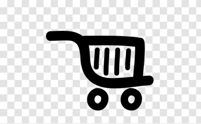 Supermarket Shopping Cart Logo Grocery Store Brand Transparent PNG