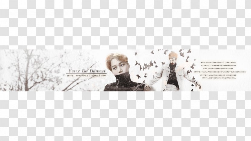 Placeit's youtube banner maker allows you to design in just a few clicks amazing youtube channel art ready to be posted right away. Youtube Exo Banner Art Autumn Para Youtube Transparent Png