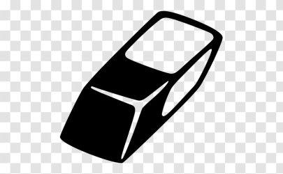 Eraser Clip Art Rectangle Transparent PNG