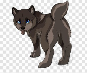 Cute Wolf Drawing