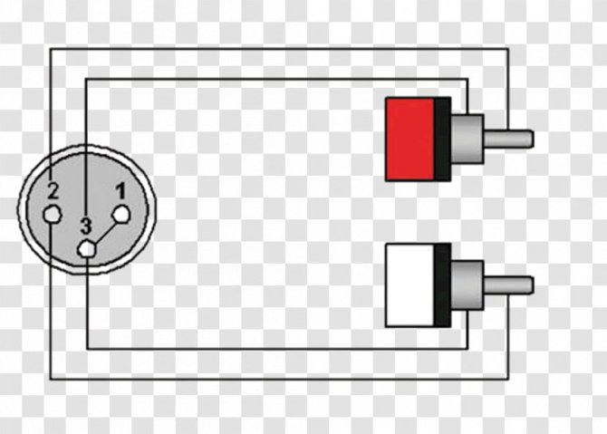 wiring diagram xlr connector rca phone  electrical cable