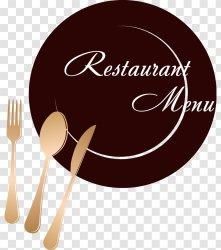 Restaurant Menu Icon Design Logo Transparent PNG