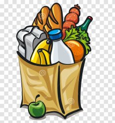 Grocery Store Shopping Bags & Trolleys Supermarket Clip Art Transparent PNG