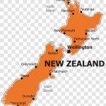 New Zealand Blank Map Telarus Inc Australia Transparent Png