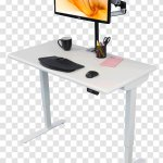 Table Standing Desk Sit Stand Transparent Png