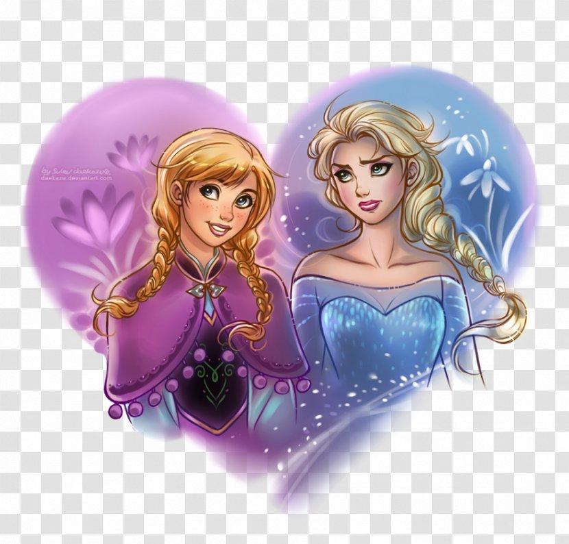 Elsa Rapunzel Anna Disney Princess Drawing Transparent Png