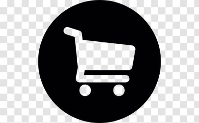 Shopping Cart Retail Logo Add To Button Transparent PNG