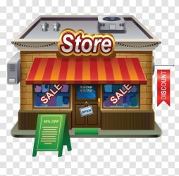 Grocery Store Shopping Clip Art Fast Food Restaurant Transparent PNG