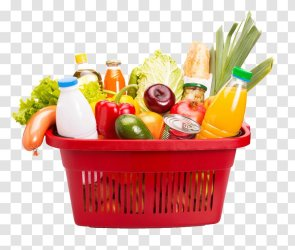 Stock Photography Shopping Supermarket Basket Food Grocery Store Cart Transparent PNG